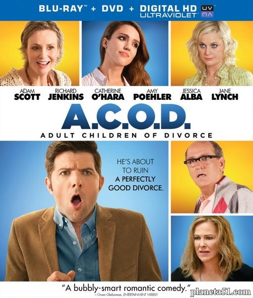 Взрослые дети развода / A.C.O.D. (2013/BDRip/HDRip)