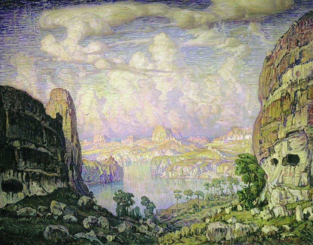 Южная страна. Пещерный город. 1908.jpg