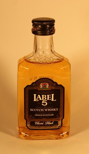 Виски Label 5 Finest Blended Scotch Whisky