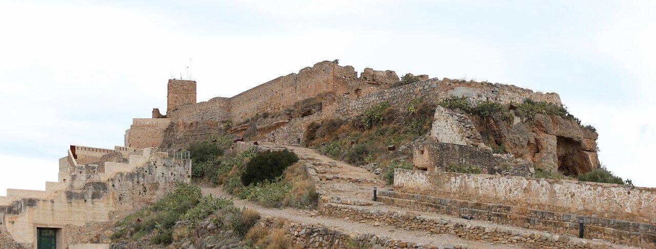 Sagunto Castle. Panorama