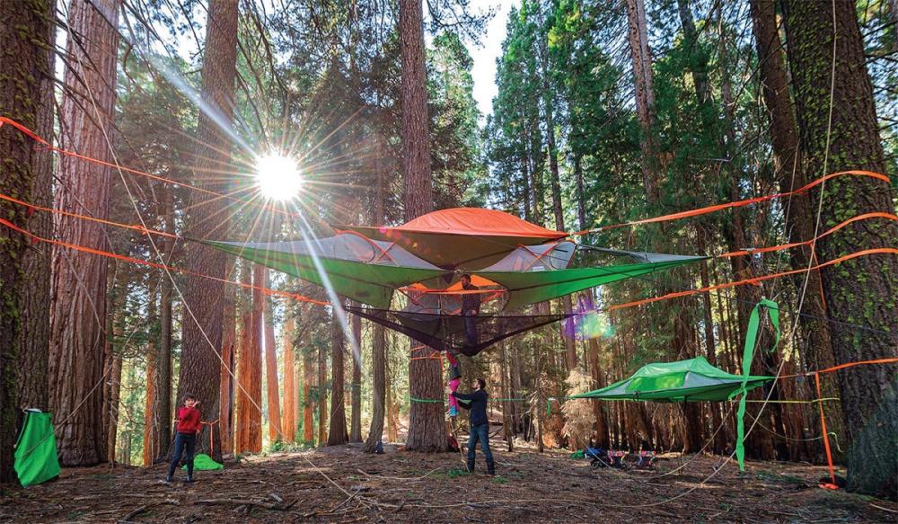 Это самая обалденная палатка, которую явидел (8 фото)