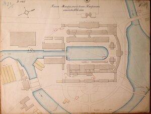 План  Адмиралтейских Ижорских заводов 1866 года.