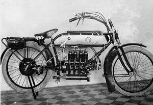 Вид мотоцикла.