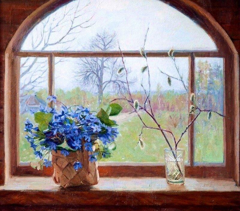 Владимир Александрович. Весеннее окно
