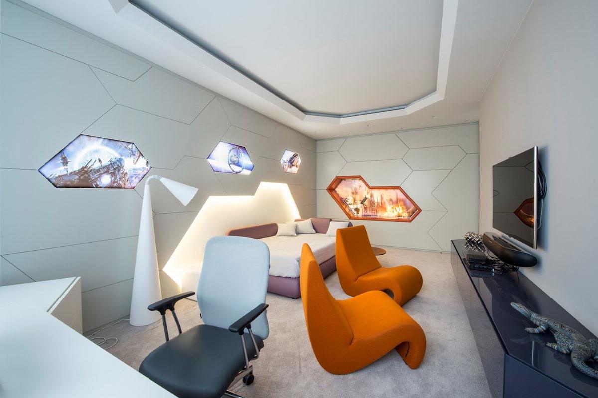 Дизайн квартиры будущего