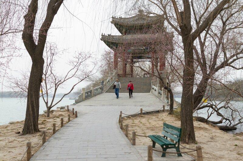 Зеркальный мост, парк Ихэюань, Пекин, Летний дворец