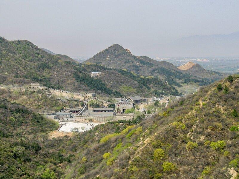 Форт Чадао, Великая китайская стена, Бадалин