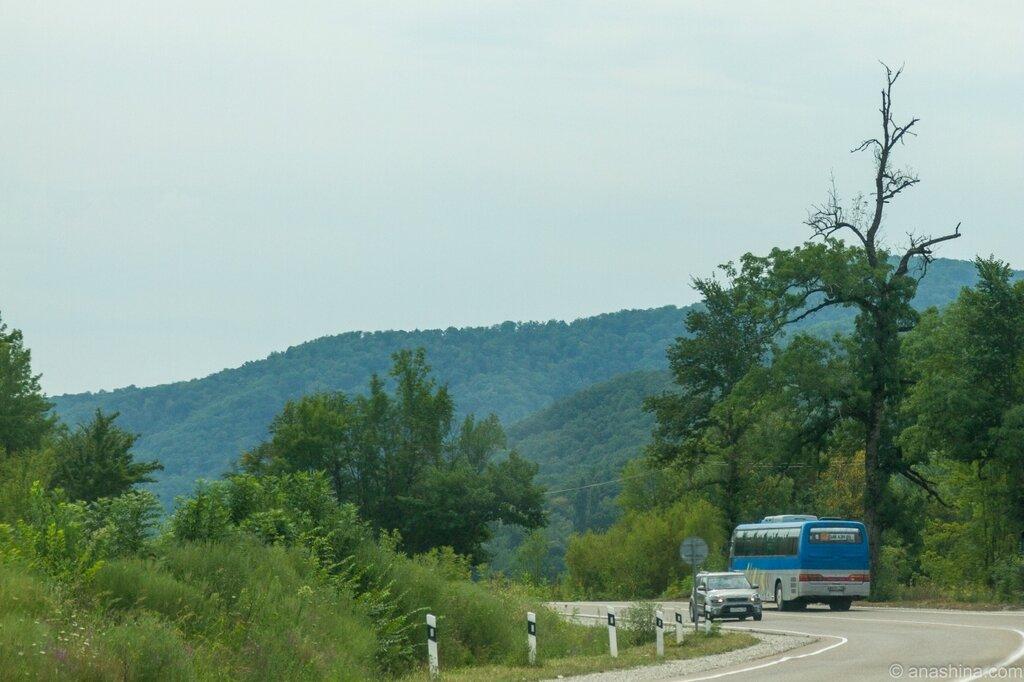 Дорога в Пшаду