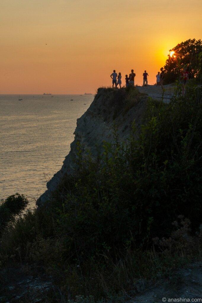 Закат, Толстый мыс, Черное море