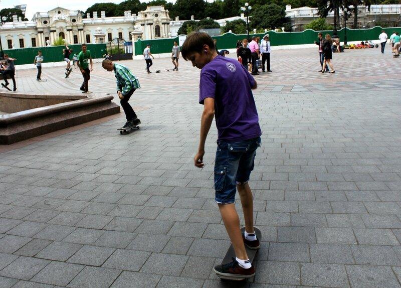 День скейтбординга 2014 в Мариинском парке