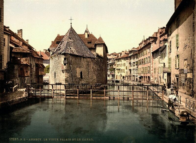 вид Дворца в конце XIX века