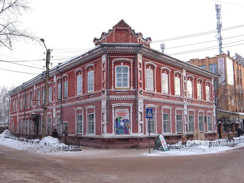 "Минусинск - ""замерзшая"" история"