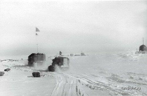 Колонна достигла станции Амундсен-Скотт. Здравствуй, Южный Полюс!