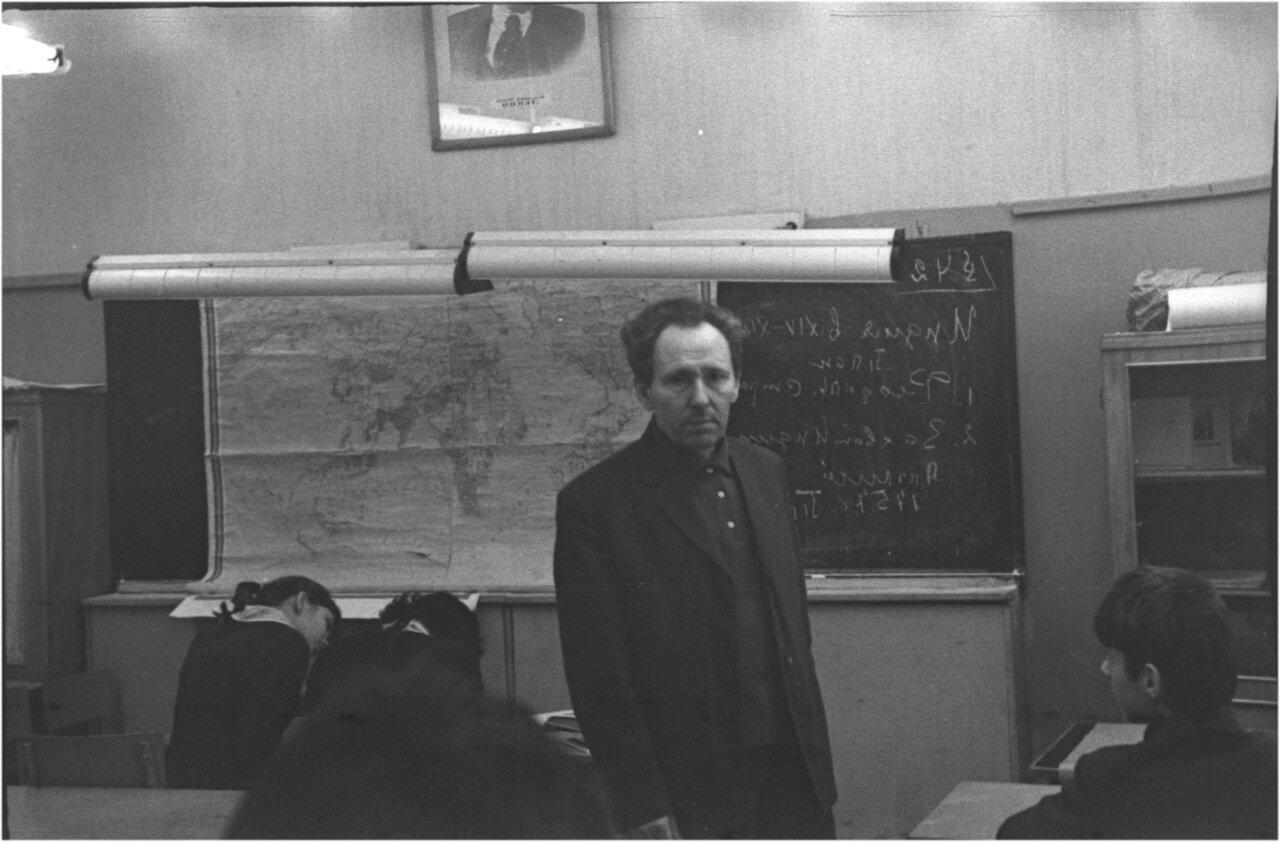 1969-70 класс 8. В История.  Михаил Иванович