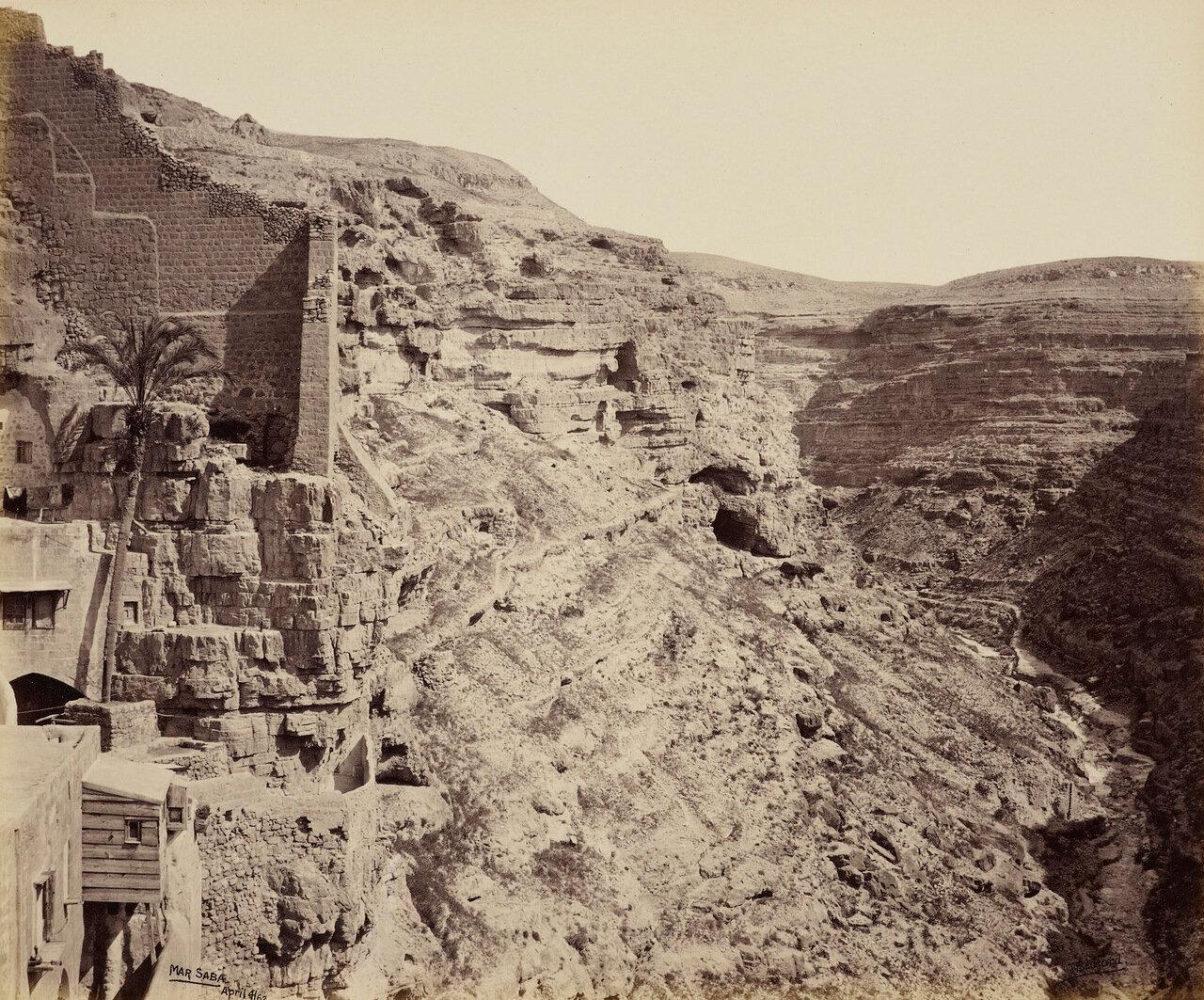 4 апреля 1862. Овраг за монастырем Св. Сабы