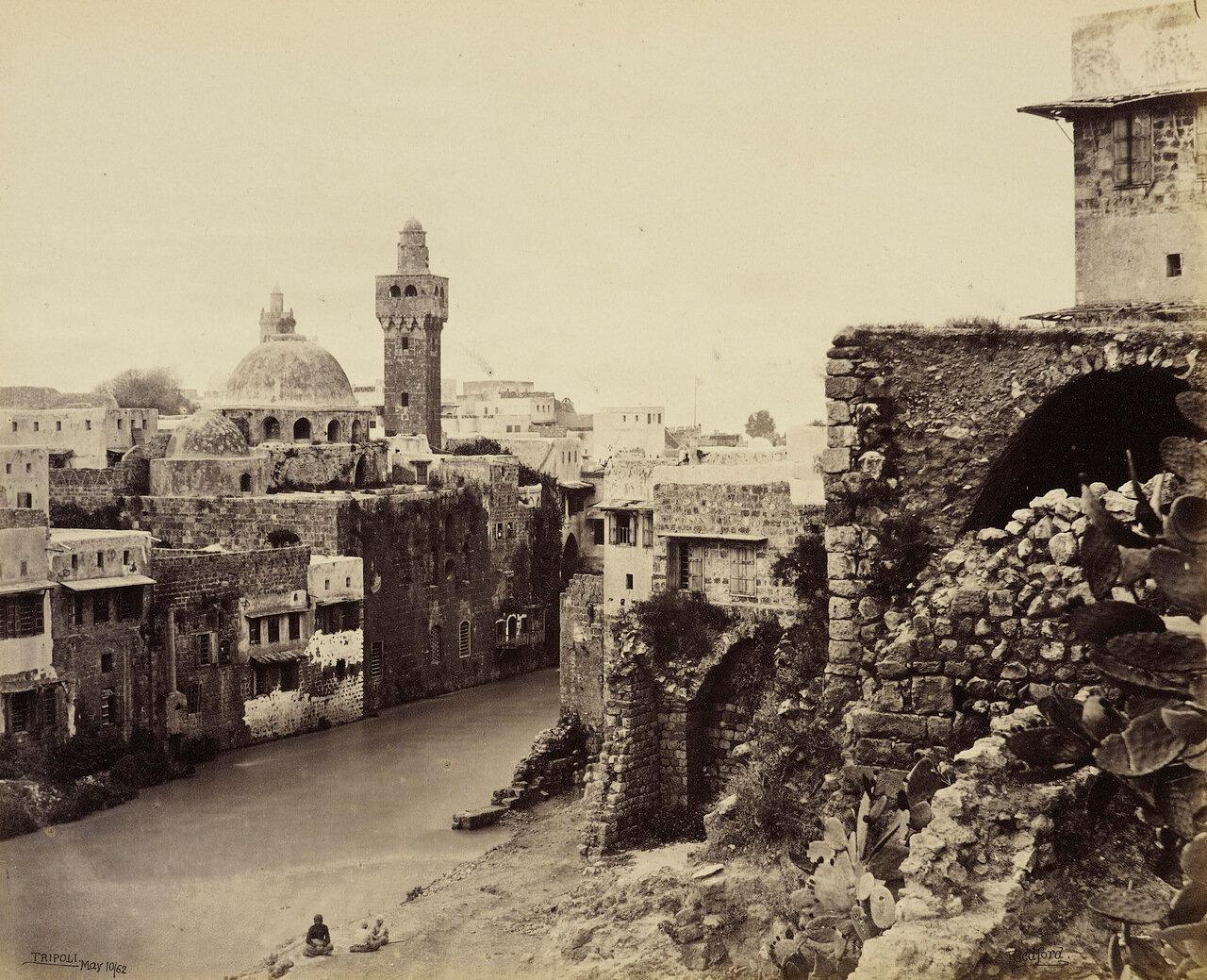 10 мая 1862. Вид Триполи. Река Кадиша, Ливан