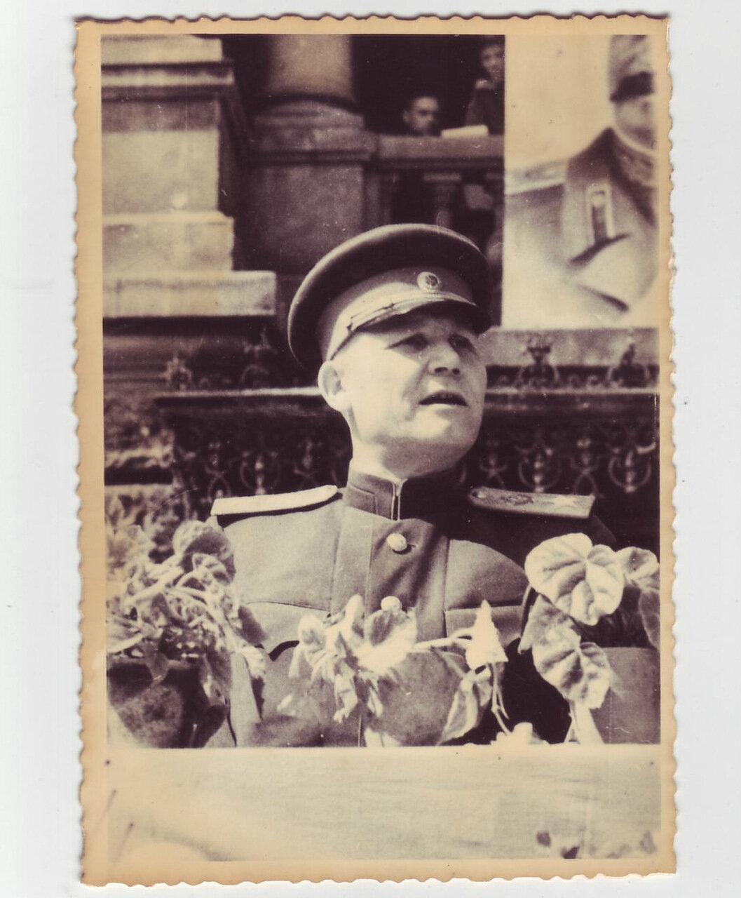 Выступление командующего армией Ивана Конева
