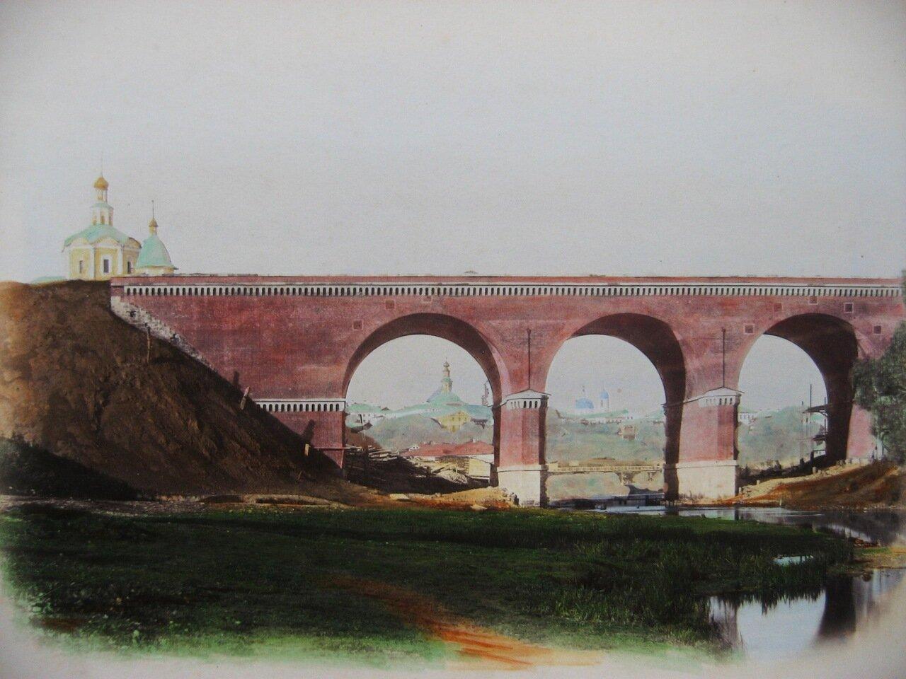 2. Железнодорожный мост через Яузу на 2-й версте