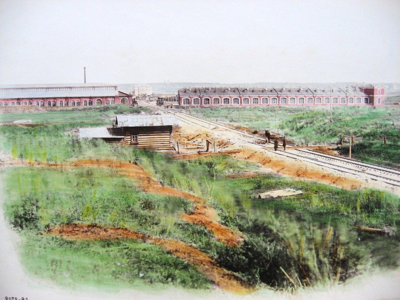 16. Вид на станцию Тула со стороны Курска