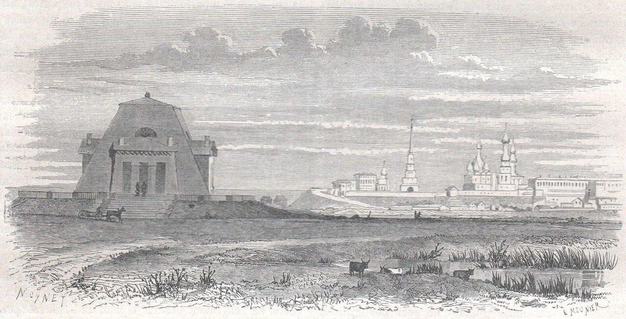 1867. Казань. Мемориал в честь павших солдат