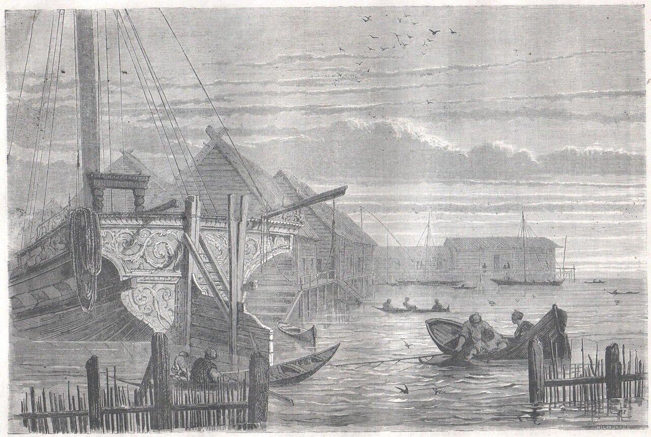 1867. Рыбная ловля на Волге