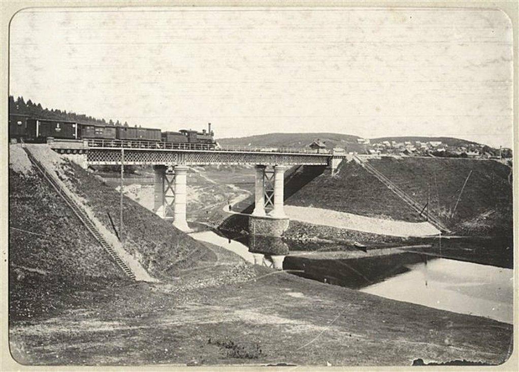Мост в Ново-Вилейке. 1900