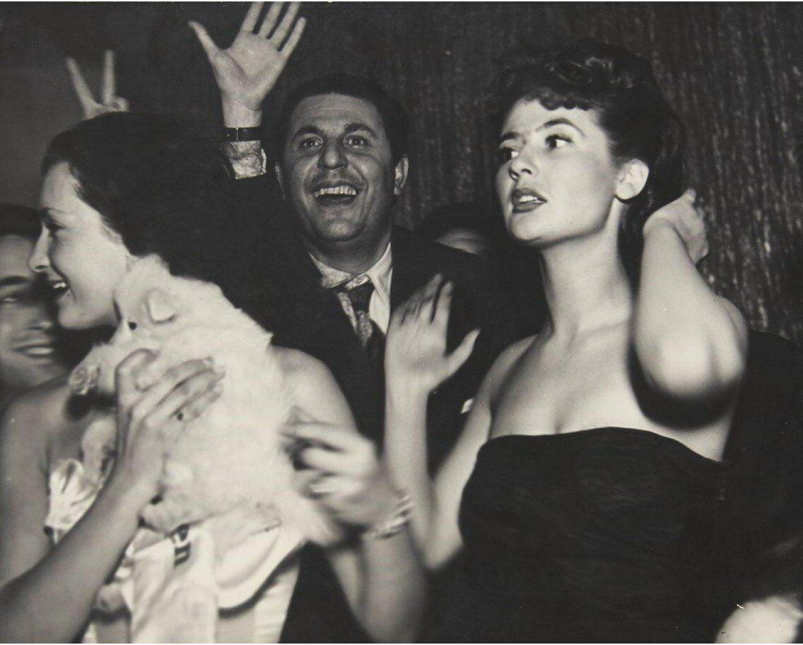 1950-е. Вечеринка. Париж