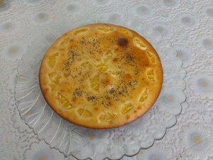 Лимонный бисквит с маком