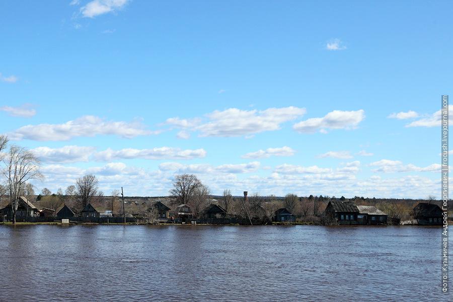 разлив реки Вятки
