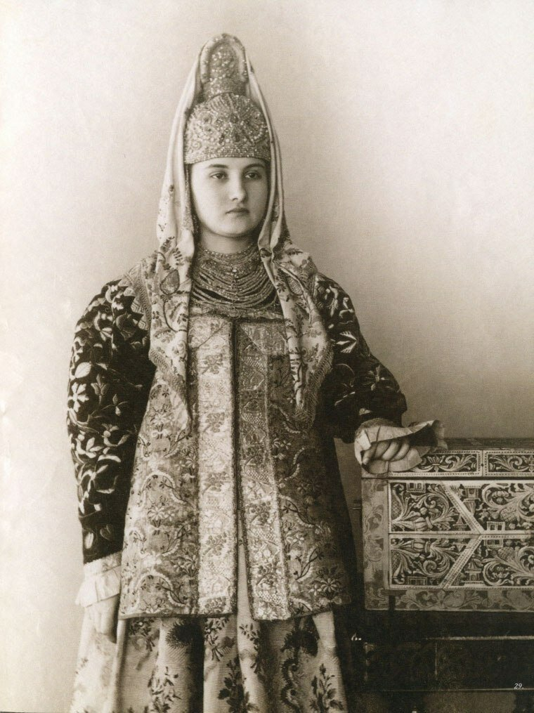Traditional costumes of northern Russia, Tver province