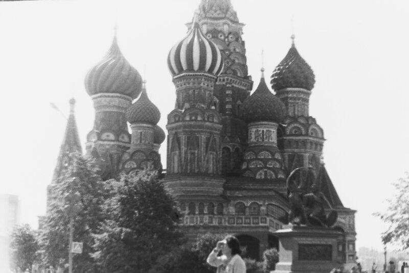 Памятник Минину и Пожарскому, Москва, Кремль, 1976 год