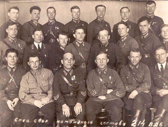 Специальный сбор командного состава 214 Воздушно-десантной бригады. 1940 г.jpg