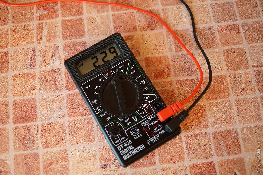 Напряжение в электросети