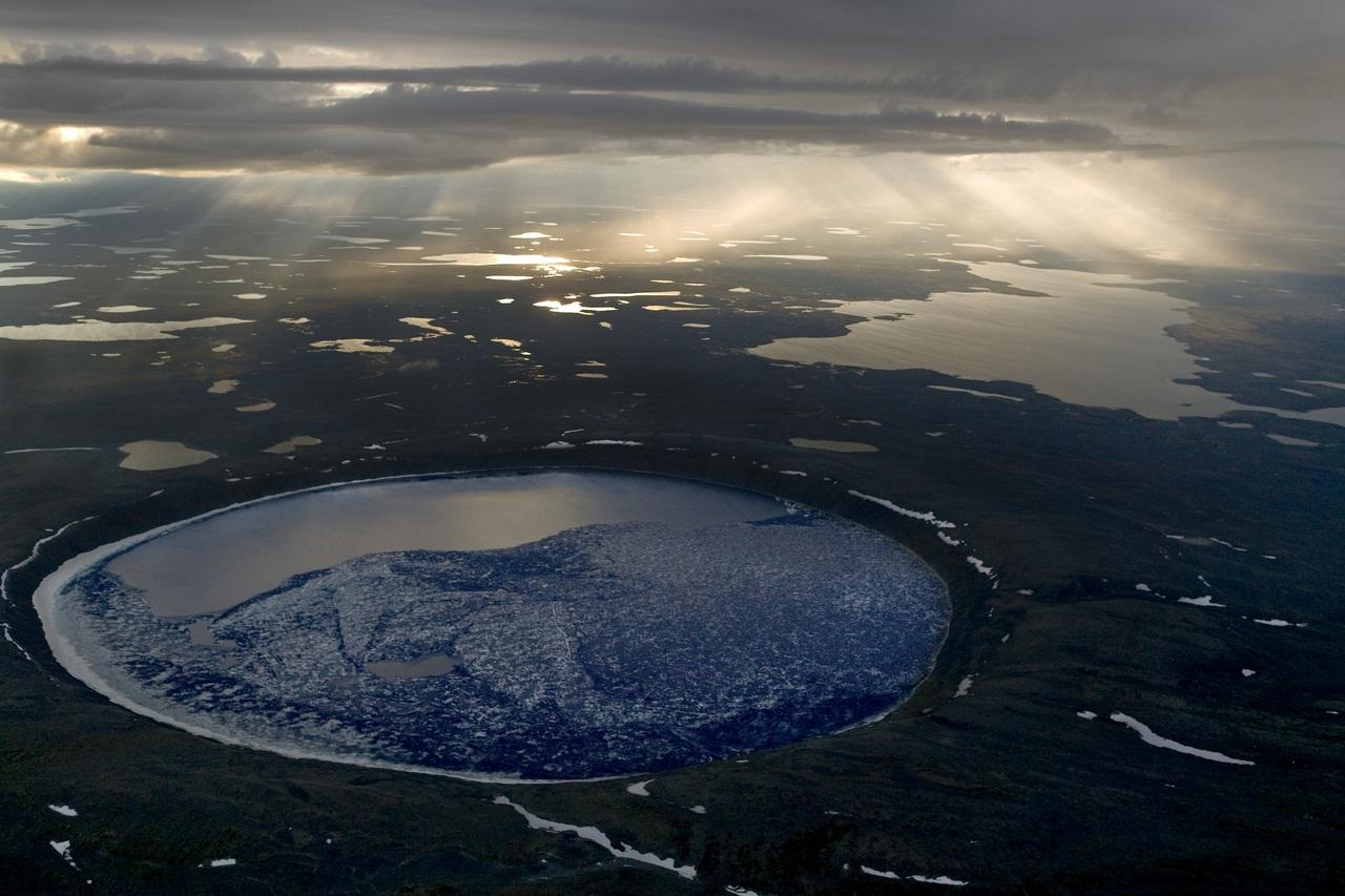 Cratère des Pingualuit, Parc national des Pingualuit, Québec 2006