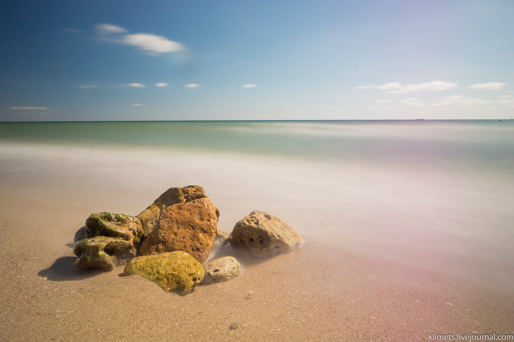 Фотоэксперименты. Море.