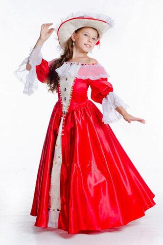 Детский карнавальный костюм Бальное платье