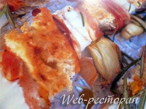 Шашлык из рыбы в духовке готовит Дж. Оливер