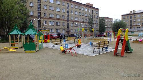 Фото города Инта №5362  Мира 9, 7 и Социалистическая 3 30.07.2013_13:42