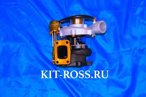 Турбина HP-55 Турбокомпрессор ОРИГИНАЛ двигатель 4100QBZL оригинал  Юджин 1041 Yuejin BAW FENIX 1044 Евро 2 Бав Феникс