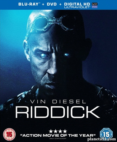 Риддик / Riddick (2013/BDRip/HDRip)