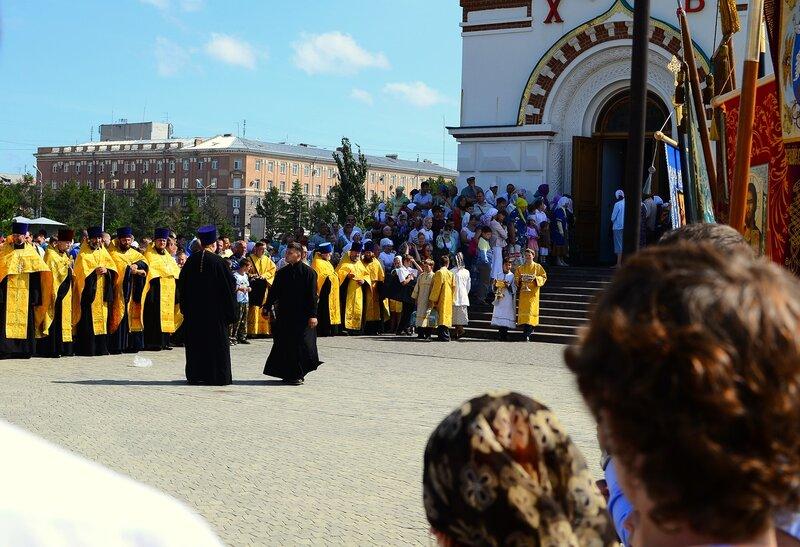 Крестный ход в честь 1025-летия Крещения Руси. Омск
