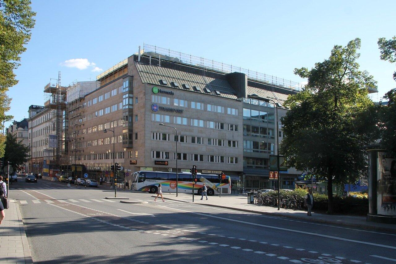 Stockholm. Стокгольм. Площадь Norra Bantorget