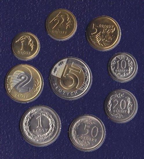 Польские монеты купить монета с черепом
