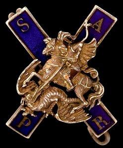 Знак Лейб-гвардии Московского полка.Фрачный.