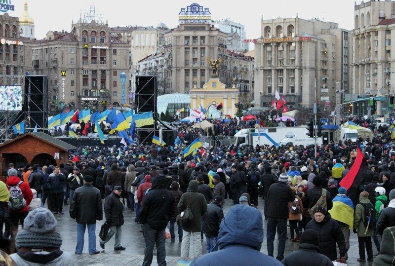 Евромайдан 2 декабря