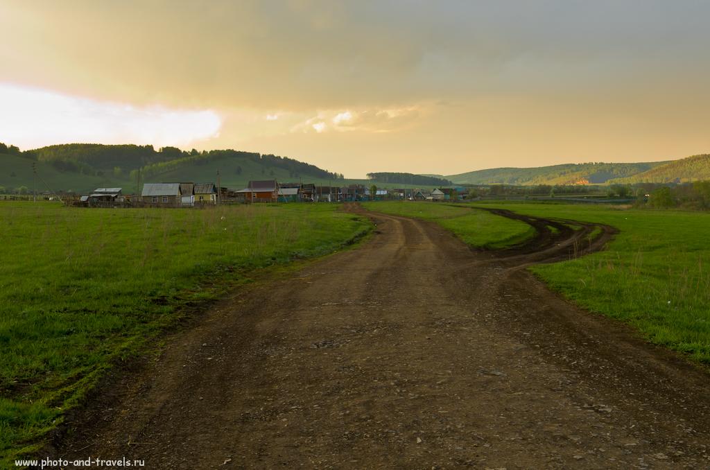 Эх, дороги, российские дороги... Поездка по Башкирии на машине. Снято на камеру Nikon D5100.
