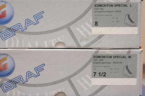 Профессиональные фигурные ботинки GRAF Edmonton Special (Швейцария) в полноте L и M