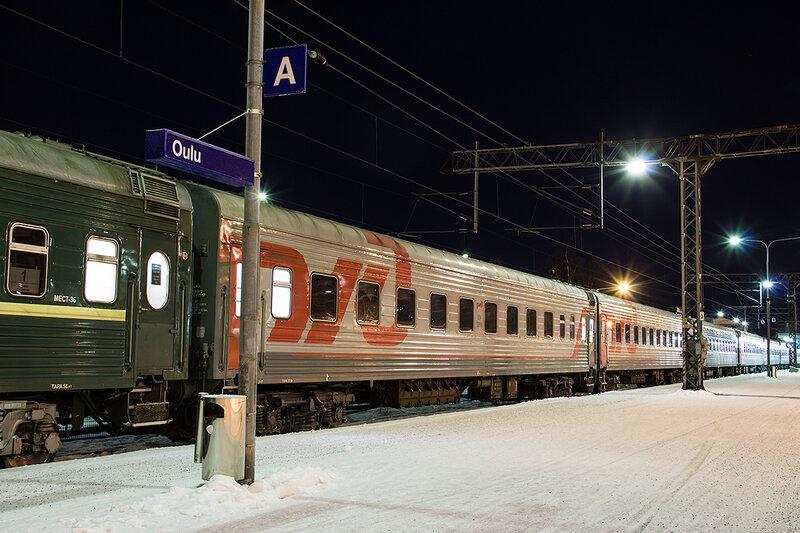 На новый год в финляндию поездом