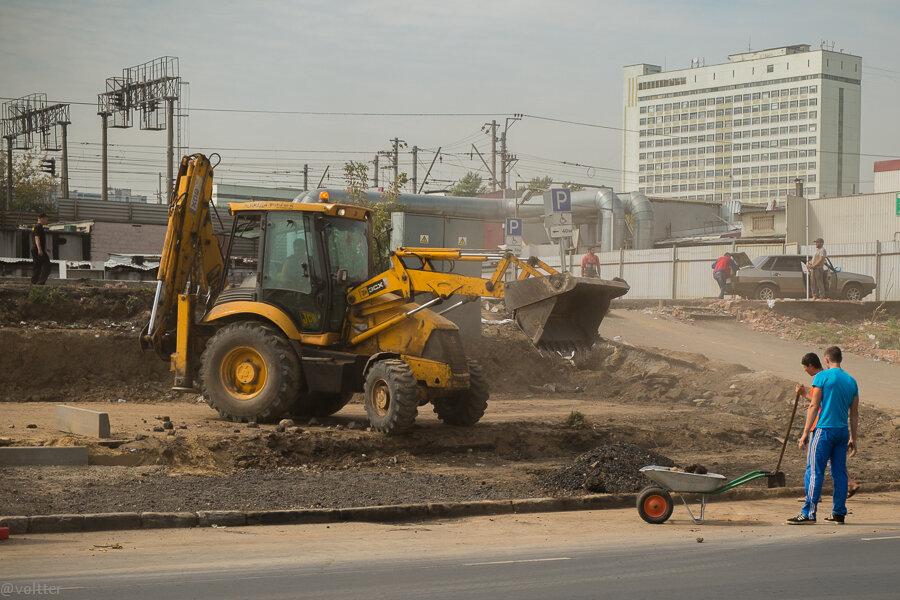 Реконструкция станции метро Выхино и выхинского рынка