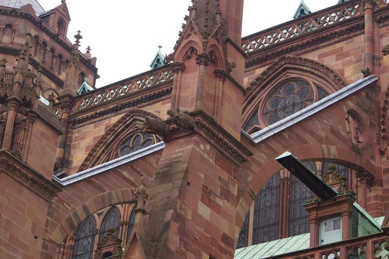 Страсбургский собор. Северный портал Св. Лаврентия